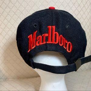 Marlboro Accessories - Vintage 90's Marlboro Snake Pass Strapback Hat